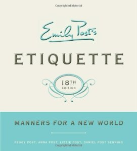 18th Edition of Etiquette